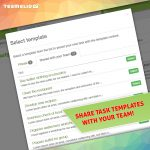 Share task templates